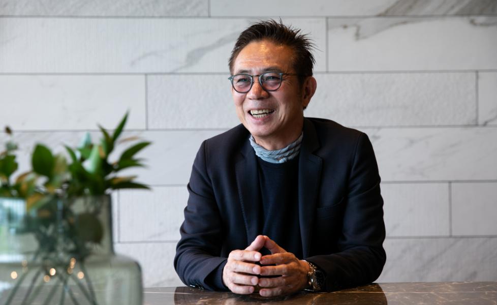 代表取締役 春田 功 の写真